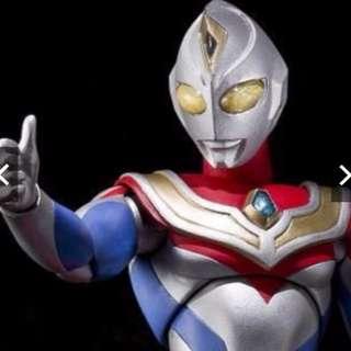 【日本帶回,全新未拆】 ULTRA-ACT 超人力霸王戴拿 DYNA(Flash Type閃光型態) ULTRA ACT