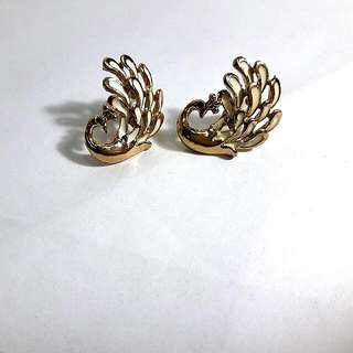 Grand Peacock Earrings