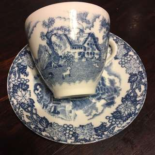 Bone China Cup And Saucer Made In Japan