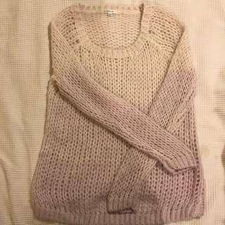 Valley Girl crochet jumper