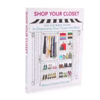 Shop Your Closet How To Organisation Book