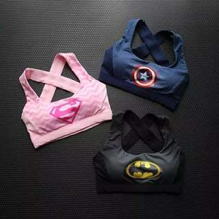 粉色運動內衣
