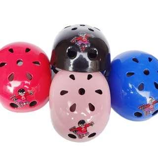 Helm Sepeda Gowes Sepatu Roda Skateboard Olahraga Olah Raga Anak Keras