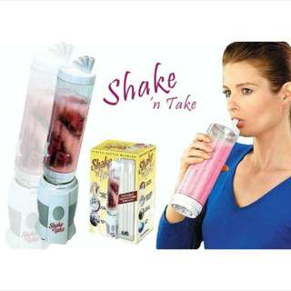 ASOTV Double Bottle Shake n Take Juice Smoothie Blender !! 3 bottle