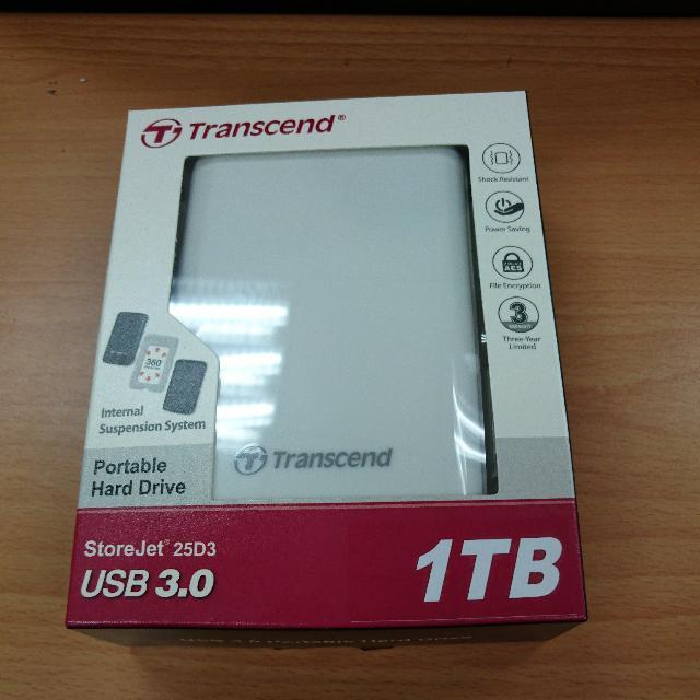 創建1TB行動硬碟