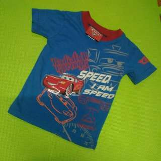 Cars T Shirt For 12 Mos Old Baby