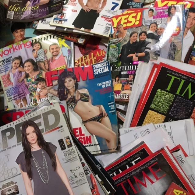 2011/2012 Various Magazines