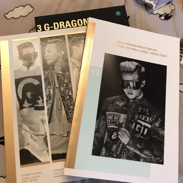 2013 G-DRAGON WORLD TOUR DVD [ONE OF A KIND THE FINAL in SEOUL + WORLD TOUR](韓國進口版) 3DVD