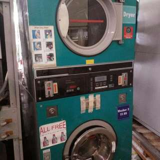 Coin Operated Stack Washer Dryer