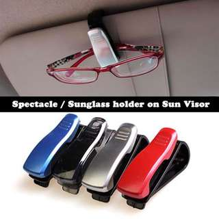 IN STOCK :: Sunglass holder (Sun Visor)