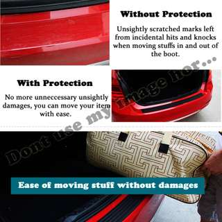 IN STOCK :: Boot Bumper Protector (red only)