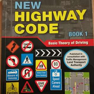 New Highway Code Book 1 Basic Theory Of Driving