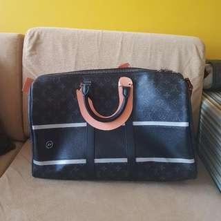 Louis Vuitton X Fragment Keepall45