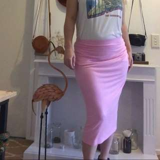 Pink Skirt Size 12