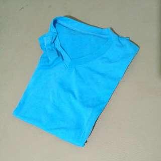 Kaos Biru Pita