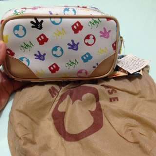 Authentic Disney Mickey Mouse Pouch