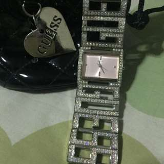 REPRICE Preloved Authentic Guess Watch