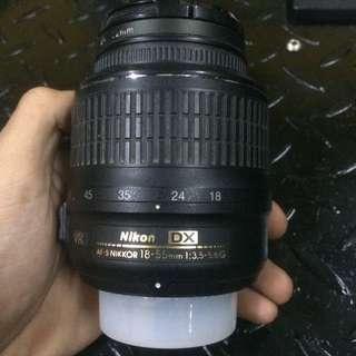 NIKON 18-55mm 1:3.5-5.6G VR