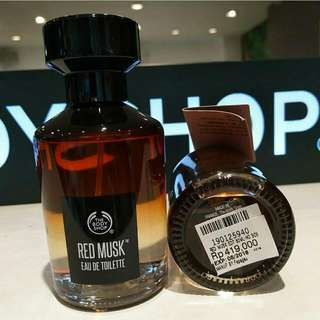 Sale EDT Red Musk The Body Shop