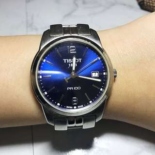 Tissot *Super Affordable Watch With Blue Face