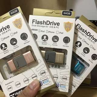 iPhone & Samsung - Flash Drive USB 64GB 包郵