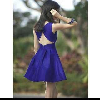 Megagamie Valentino Lace Up Dress
