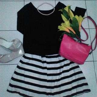 Stelan W/ Stripe Skirt