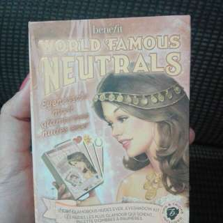 World Famous Neutrals by Benefit