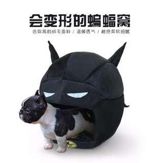 超級英雄帥氣蝙蝠俠柔軟舒適床窩