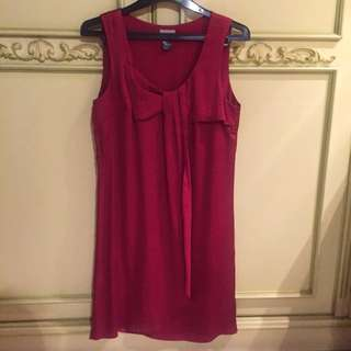 HnM Red Silky Dress
