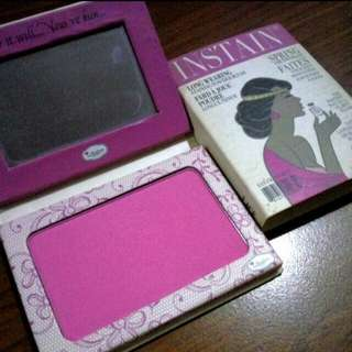 The Balm Instain Blush In LACE