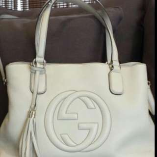 6c7a55482c13 Gucci Soho Tote Bag. Brand New... A working bag with a detachable
