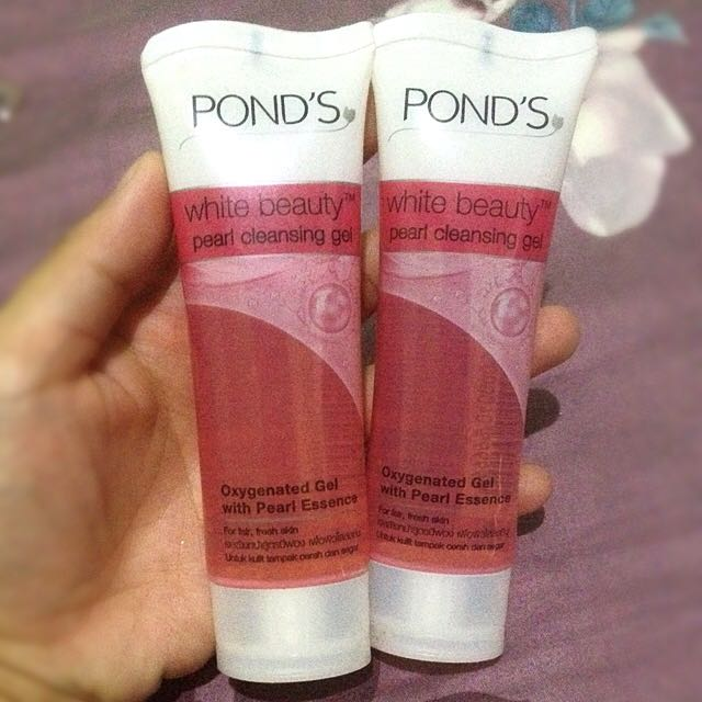 2piece Of Ponds Pearl Cleansing Gel