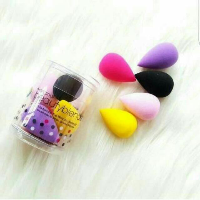 5 Pcs - Beauty Blender Original 5 In 1