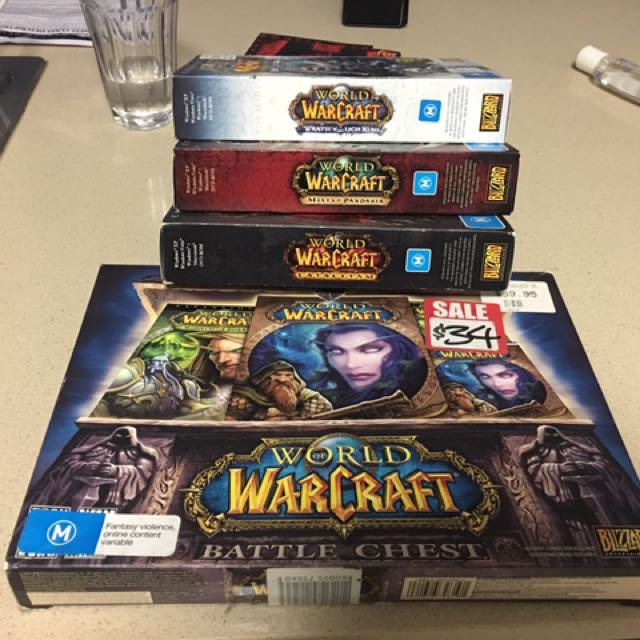 5 X World Of Warcraft Games