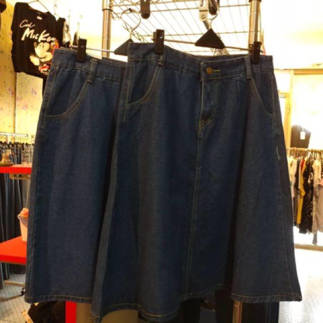 全新)牛仔裙#三百元牛仔