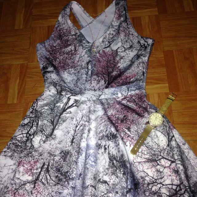 Abstract Style Dress