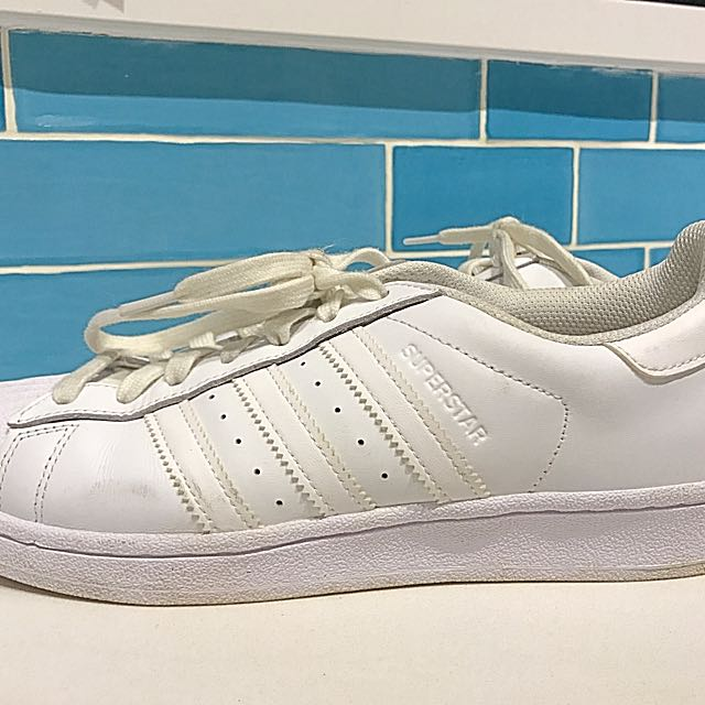 Adidas Superstar Foundation Shoes White. Size US8. Unisex