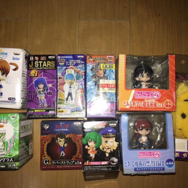 Anime Figure Lot