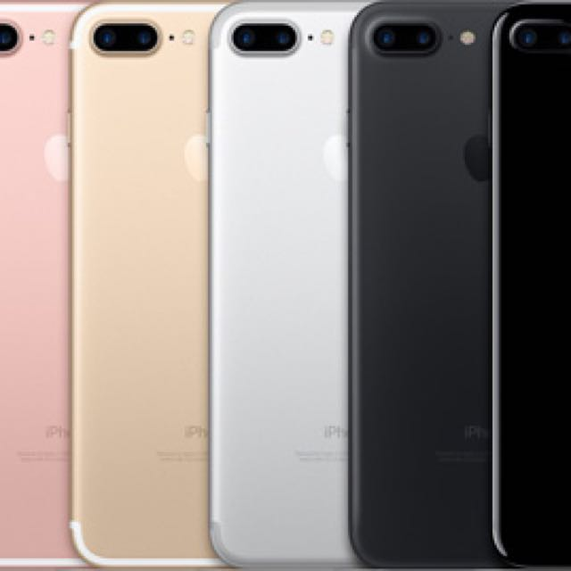 Apple iPhone 7 plus 128g  6色可選