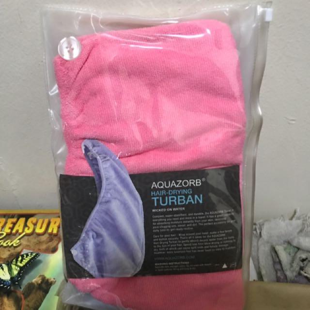 Aquazorb Hair Drying Turban