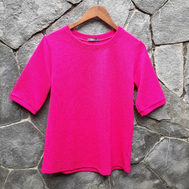Atasan Pink FAnta