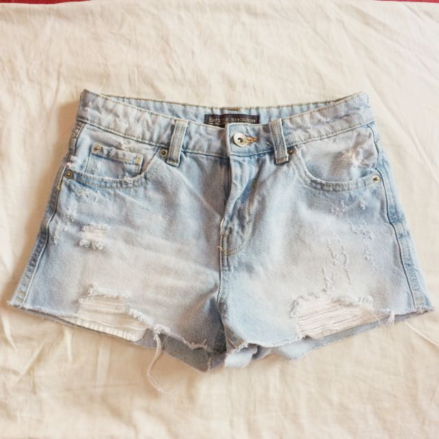 Authentic Berskha Ripped Shorts