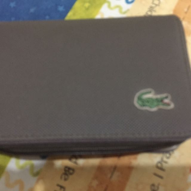 Authentic Lacoste Wallet
