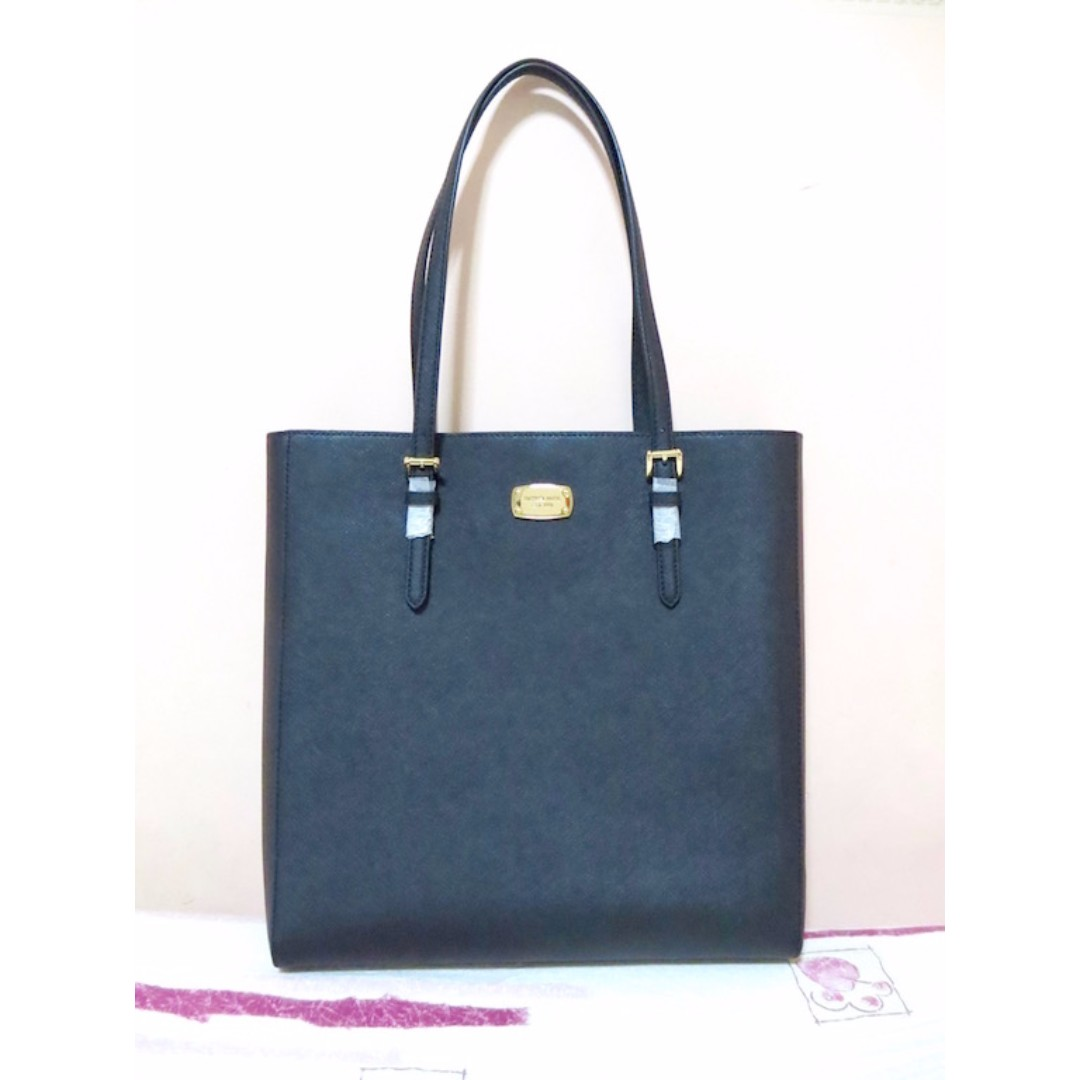 authentic michael kors jet set travel large north south tote in rh ph carousell com