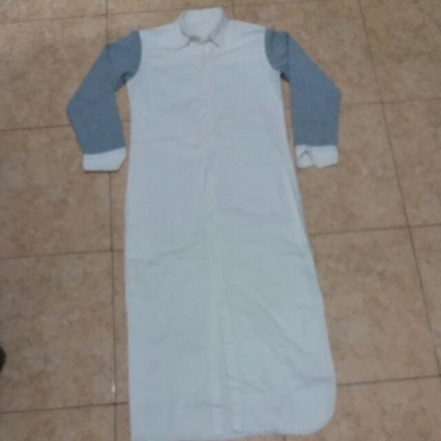 Baju Pnjang Putih