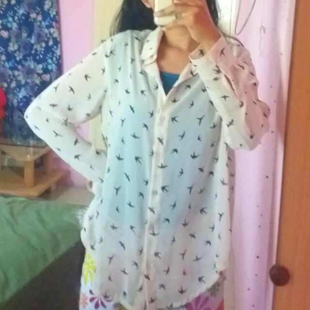 baju sifon bird
