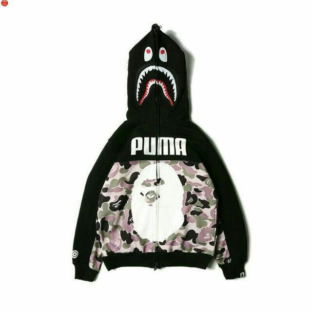 b2e8fa143370 Bape Shark x Puma Hoodie
