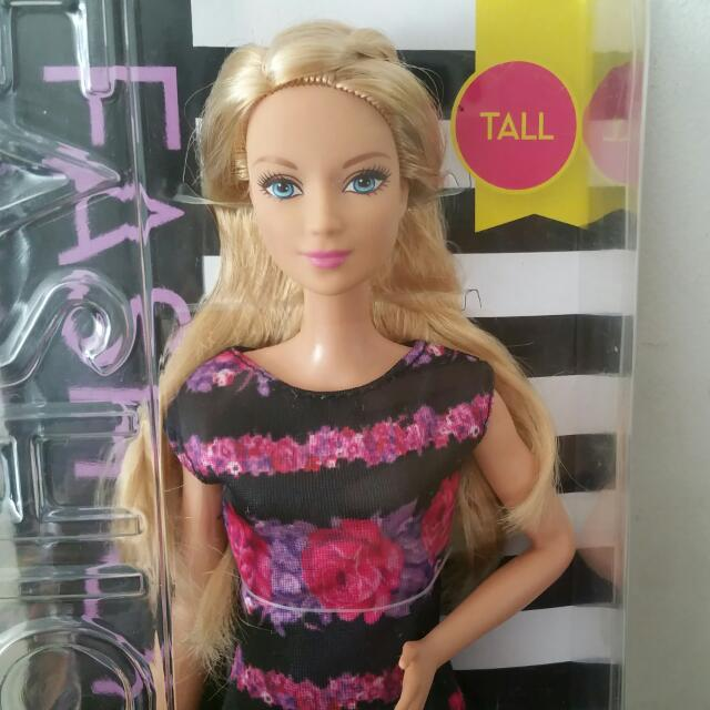Original 30cm Best Source · Barbie Fashionistas Doll 28 Floral Flair Tall Toys .
