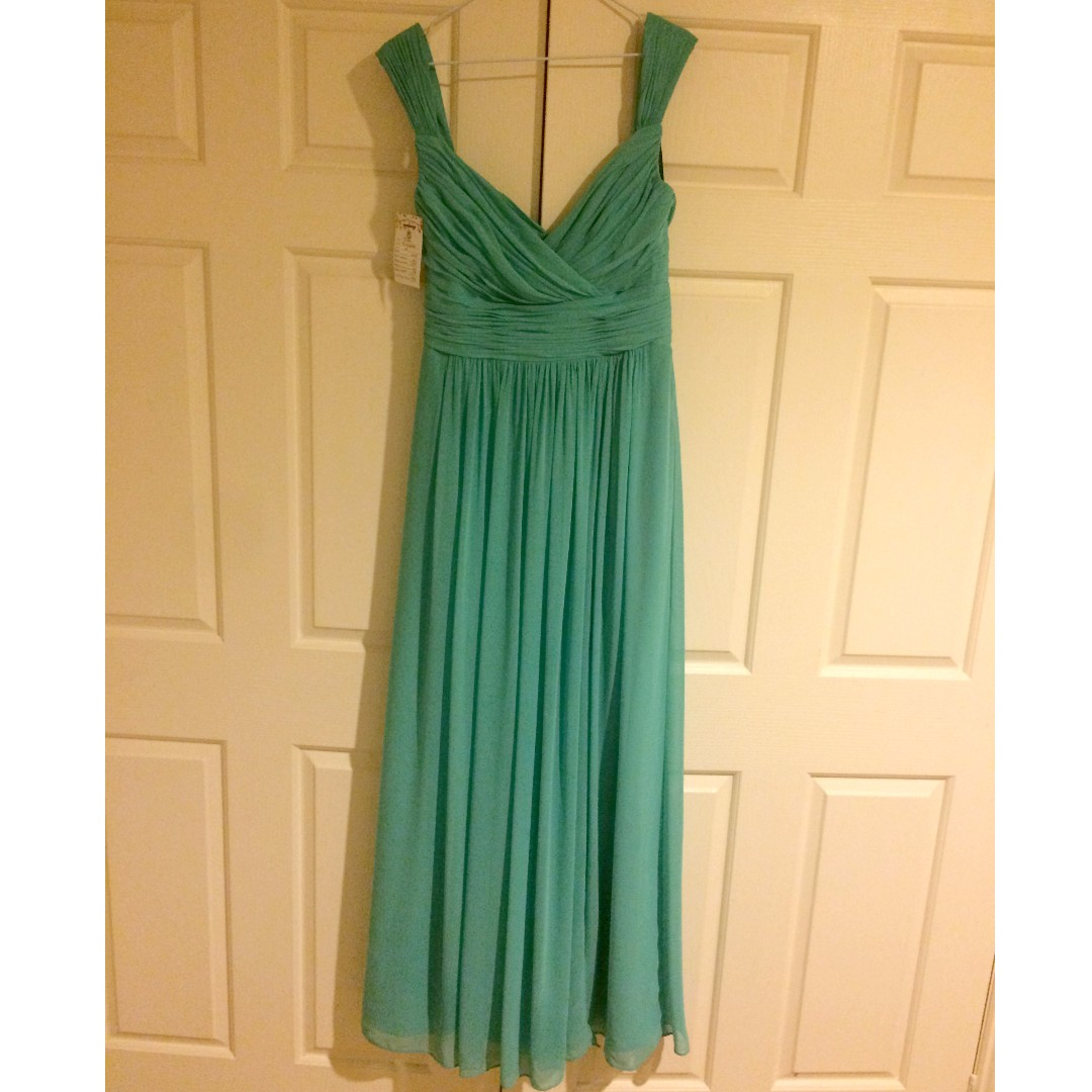 Beautiful elegant evening Dress, turquoise, Size 12
